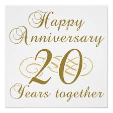 20th wedding anniversary 20th wedding anniversary wishes messages and quotes happy