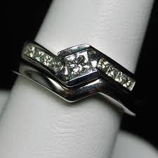 wedding set rings white gold and platinum wedding rings hytrek s jewelershytrek s