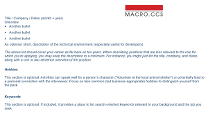 brief summary of background for resume the compelling resume macroccs resume solo for website page 002