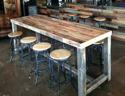 bar height conference table homemade bar table behind couch bar table homemade bar height table