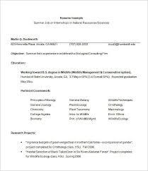 Resume Blank Format Pdf Internship Resume Template 7 Download Free Documents In Pdf Word