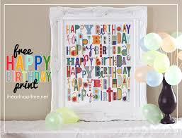 15 free birthday printables heart nap