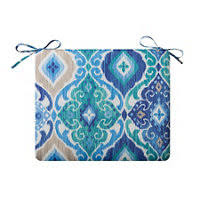 outdoor cushions sea mist medallion print improvements catalog