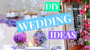 3 easy diy wedding decor ideas wedding diy nia nicole youtube