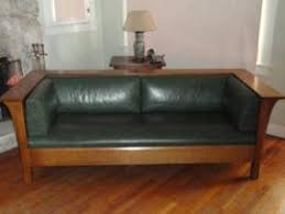 Stickley Mission Sofa by Ship A Stickley Settle Mission Couch Sofa Prarie Style To Cullman