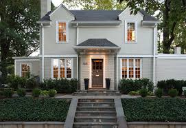 gorgeous painted brick home renovations traditional exterior dc
