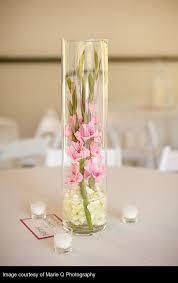 Cylinder Vase Centerpiece by 25 Best Gladiolus Wedding Arrangements Ideas On Pinterest