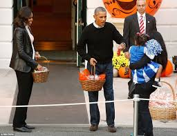 Barack Obama Halloween Costume Obamas Hand Hershey U0027s Kisses Cookies White House Trick