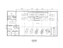 farm shop floor plans autoepair shop floor plans house plan automotive unique