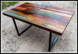 custom wood dining tables custom reclaimed wood dining table desk console