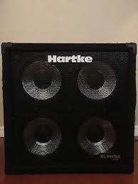 hartke 410xl bass cabinet hartke 410xl 4x10 bass guitar cabinet 299 99 picclick