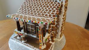 log cabin gingerbread house pictures house pictures