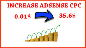 adsense cpc how to increase adsense cpc increase google adsense earnings