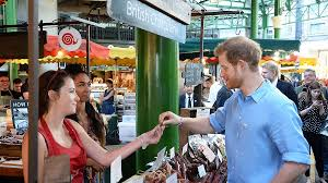 kennington palace prince harry shows support for borough market southwark news