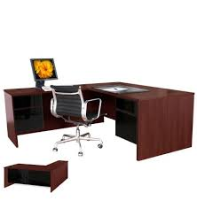L Shaped Desk With Left Return L Shaped Executive Computer Desk Left Return Contempo Space