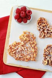 heart funnel cakes