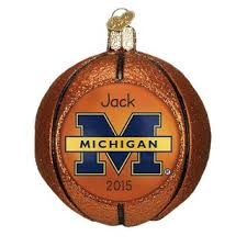michigan wolverines ornaments gifts
