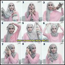 tutorial hijab pashmina tanpa dalaman ninja 20 cara memakai hijab pashmina simple dan modis elegantria