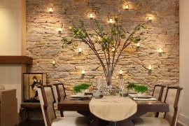 Dining Rooms With Snazzy Striped Accent Walls - Dining room accent wall