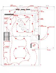 kitchen lighting design layout lighting layout pot lights best