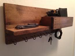 key holder wall wall organizerkey hook holdermail organizerwall mail