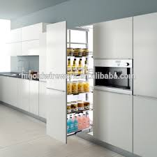 kitchen larder cabinets good quality kitchen larder cabinet soft closing tall unit basket