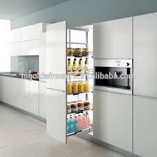 kitchen larder cabinet good quality kitchen larder cabinet soft closing tall unit basket