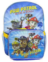 paw patrol boys u0027 paw patrol dual backpack detachable lunch
