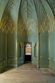 William Hill Interiors Horace Walpole Private Rooms Strawberry Hill Gothic Revival