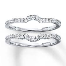 wedding band sets diamond wedding band set 3 8 ct tw cut 14k white gold
