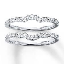 wedding band set diamond wedding band set 3 8 ct tw cut 14k white gold