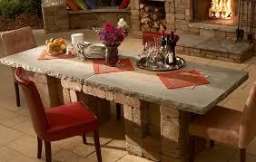 diy concrete dining table simple design concrete dining room table outdoor patio table dining