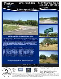 central texas hill country acreage lots for sale paragon