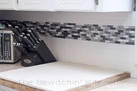 stick on backsplash for kitchen pleasant peel and stick tile backsplash model for your home