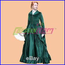Halloween Costumes Southern Belle Green Civil War Costume
