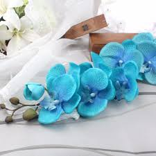 2pcs orchid artificial flowers for wedding decoration supplies