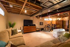 Partially Finished Basement Ideas Home Design Finished Basements Inspiring Basement Ideas