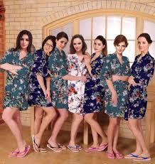 bridesmaids robes cheap satin robes for bridesmaids 2017 wedding ideas magazine