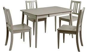 sadie dining table u0026 4 chairs grey dining tables u0026 chairs