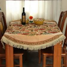 dining room table cloth french country tablecloths wayfair