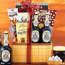 Beer Gift Basket Bavarian Nutmeg Root Beer Gift Basket