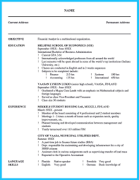 Quality Analyst Resume Cool Credit Analyst Resume Example From Professional