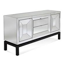 Sideboards Black White And Lacquer Mirrored Sideboard U0026 Buffet Tables You U0027ll Love Wayfair