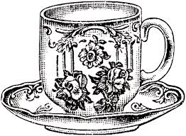 vintage floral teacup picture the graphics fairy