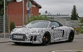 an open and shut case new audi r8 spyder scooped undisguised by
