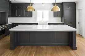 are dark cabinets out of style 2017 new kitchen trend dark cabinets subway tile shiplap home