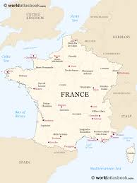 St Malo France Map by Political Map Of France Recana Masana