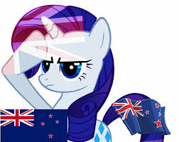 My National Flag Rarity And New Zealand National Flag My Little Pony Friendship