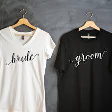 hochzeitsgeschenk braut braut bräutigam t shirt paket braut shirt bräutigam shirt