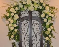 Wedding Arches In Church Arch Flowers Wedding Arch Flowers Arch Corner Pieces
